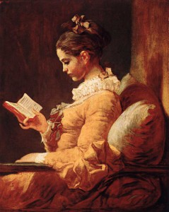 Jean-Honore Fragonard, Young Girl Reading