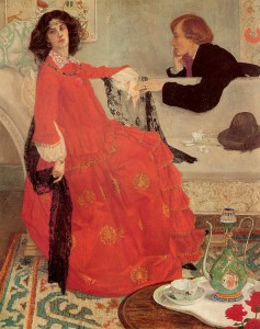 Maxwell Ashby Armfield «Faustine»