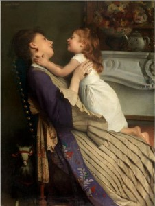 Emile Levy «Mother and daughter