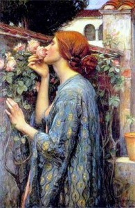 John William Waterhouse The Soul of the Rose